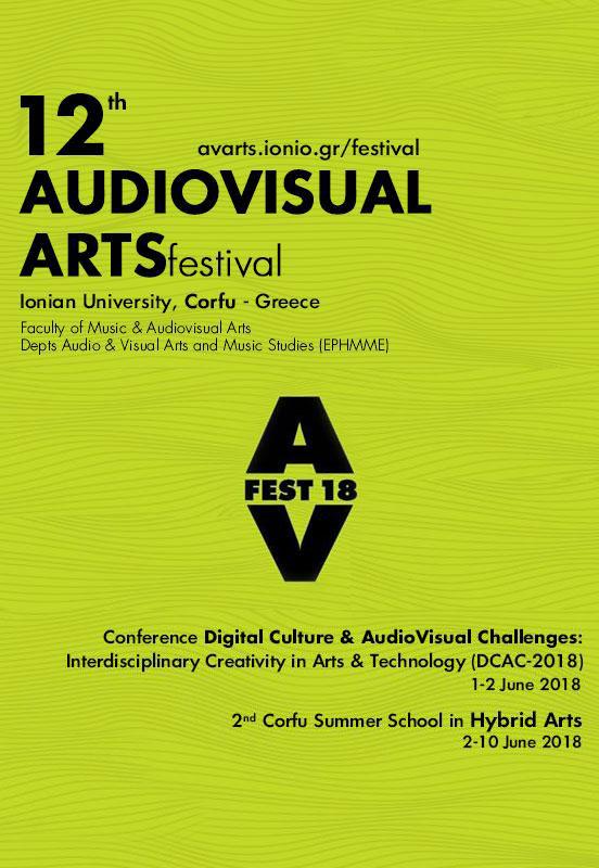 12 Audiovisual Arts Festival