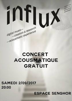 Influx - Concert Acousmatique