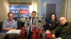 Interviews at SKAI FM