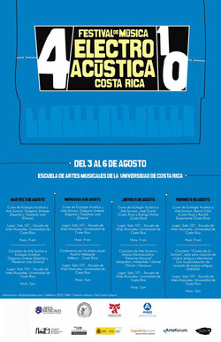 4 Festival de Musica Electroacustica