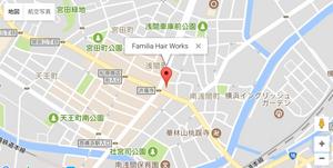 ファミリアヘアワークス 横浜 天王町 地図