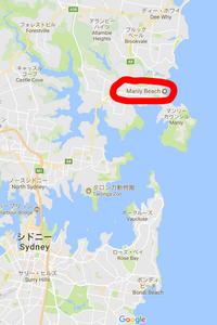 オーストラリア マンリー Gmap