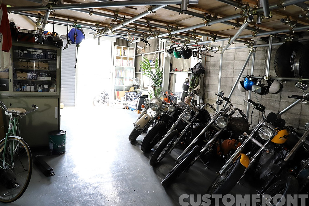 hangar motor cycle ハーレーダビッドソン