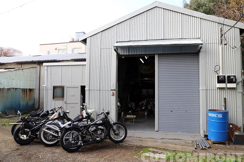 hangar motor cycle