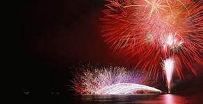 茅ヶ崎サザンビーチ花火大会!素敵な夜をお過ごしください!
