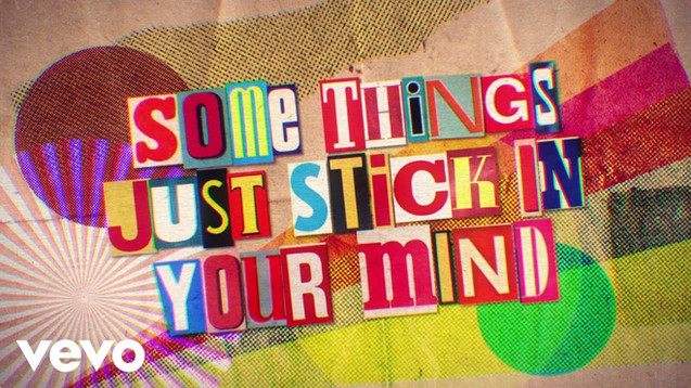 THE ROLLING STONES - SOME THINGS JUST STICK IN YOUR MIND - LYRIC VIDEO