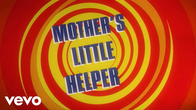 THE ROLLING STONES - MOTHER'S LITTLE HELPER - LYRIC VIDEO