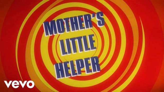 THE ROLLING STONES - MOTHER'S LITTLE HELPER - LYRIC VIDEO