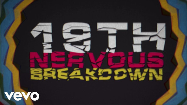 THE ROLLING STONES - 19TH NERVOUS BREAKDOWN - LYRIC VIDEO