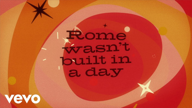 SAM COOKE - ROME (WASN'T BUILT IN A DAY) - LYRIC VIDEO