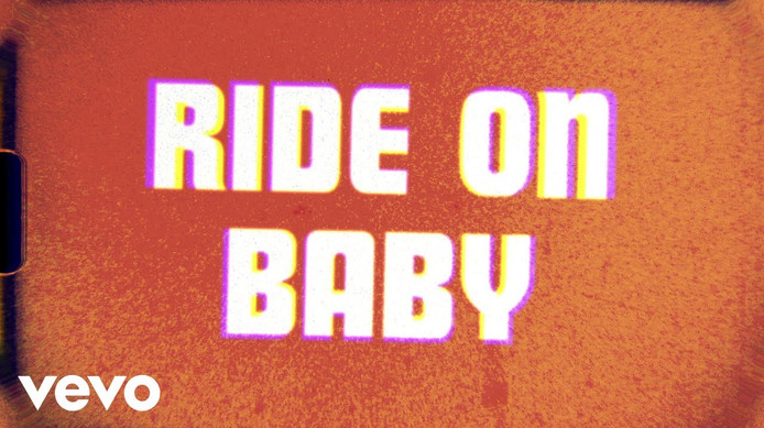 THE ROLLING STONES - RIDE ON, BABY - LYRIC VIDEO