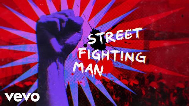 THE ROLLING STONES - STREET FIGHTING MAN - LYRIC VIDEO