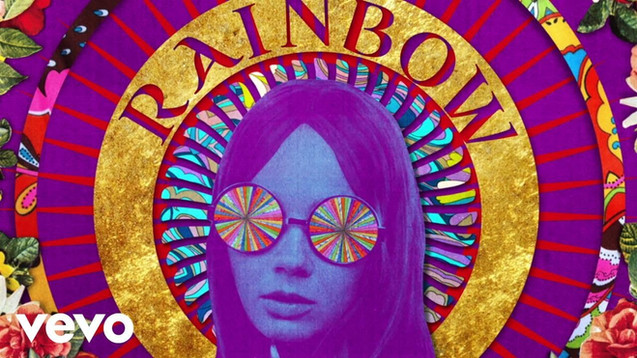THE ROLLING STONES - SHE'S A RAINBOW - LYRIC VIDEO