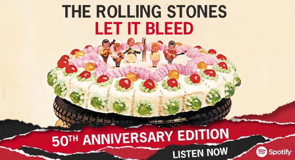 THE ROLLING STONES - LET IT BLEED - SPOTIFY BANNER AD