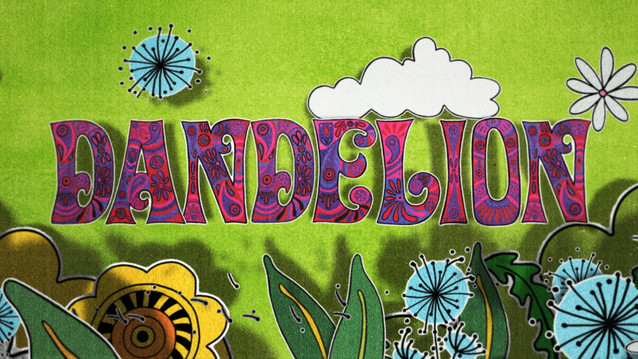 THE ROLLING STONES - DANDELION - LYRIC VIDEO