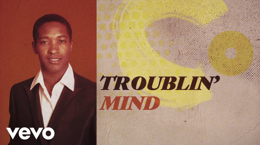 SAM COOKE - (SOMEBODY) EASE MY TROUBLIN' MIND - LYRIC VIDEO