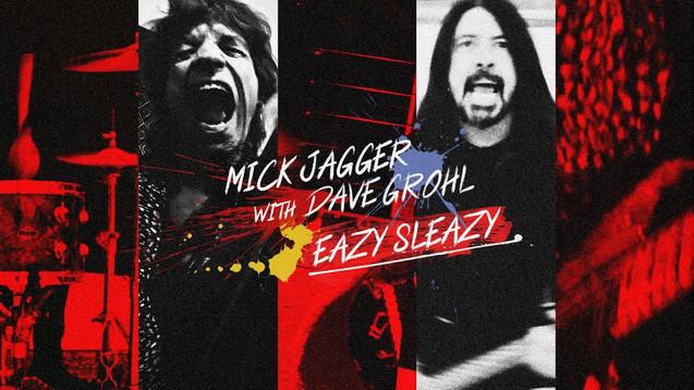 MICK JAGGER - EAZY SLEAZY - LYRIC VIDEO