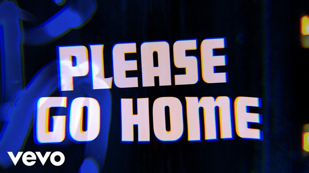THE ROLLING STONES - PLEASE GO HOME - LYRIC VIDEO