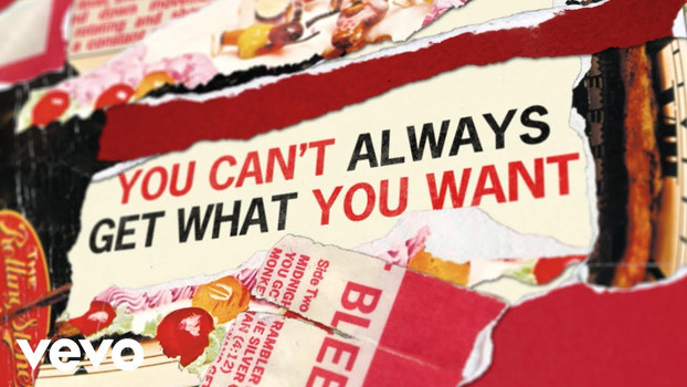 THE ROLLING STONES - YOU CAN'T ALWAYS GET WHAT YOU WANT - LYRIC VIDEO