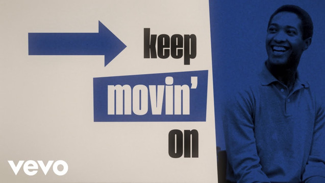 SAM COOKE - KEEP MOVIN' ON - LYRIC VIDEO