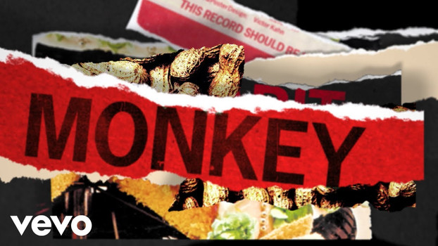 THE ROLLING STONES - MONKEY MAN - LYRIC VIDEO