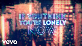 BOBBY WOMACK - IF YOU THINK YOU'RE LONELY NOW - LYRIC VIDEO