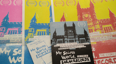MY SECRET WORLD: THE STORY OF SARAH RECORDS - DVD RELEASE - PACKAGE