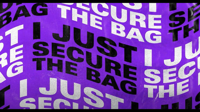 THRDL!FE x NADIA ROSE - SECURE THE BAG - LYRIC VIDEO