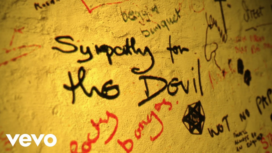 THE ROLLING STONES - SYMPATHY FOR THE DEVIL - LYRIC VIDEO