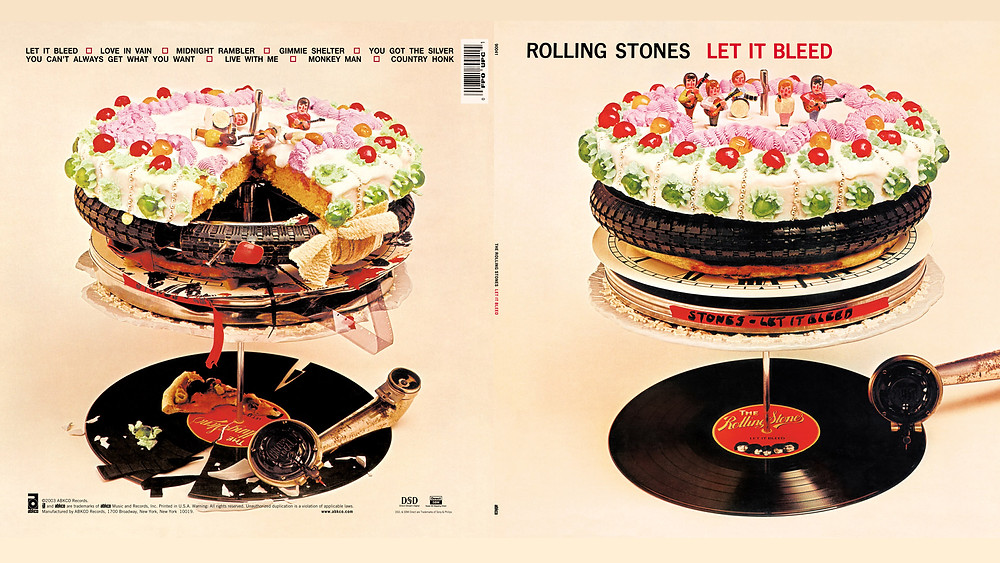 The Rolling Stones Let It Bleed original album sleeve cover