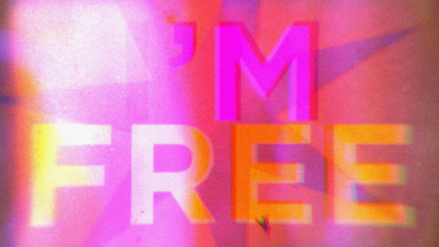 THE ROLLING STONES - I'M FREE - LYRIC VIDEO
