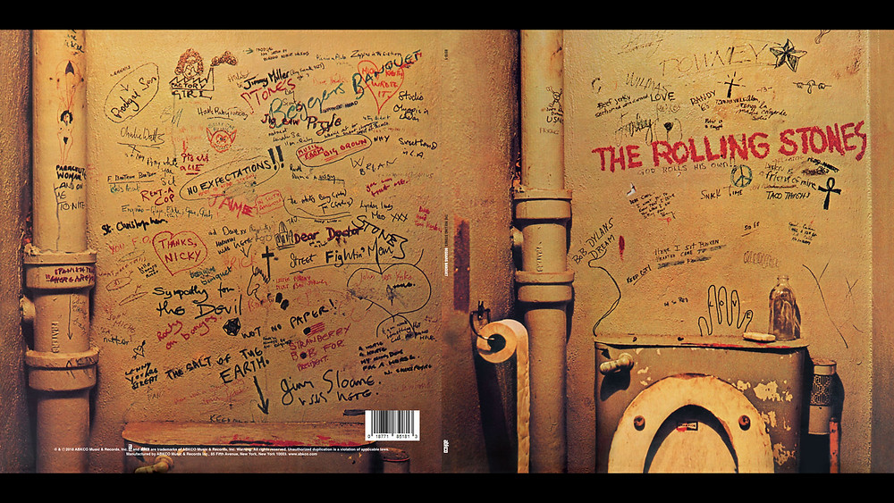 The Rollings Stones Beggars Banquet original album sleeve cover