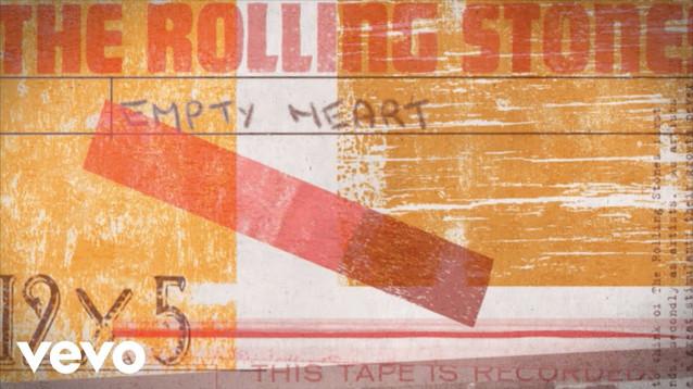 THE ROLLING STONES - EMPTY HEART - LYRIC VIDEO