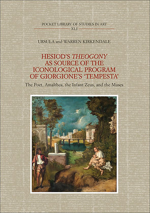 Hesiod's Theogony as source of the iconological program of Giorgione's Tempesta