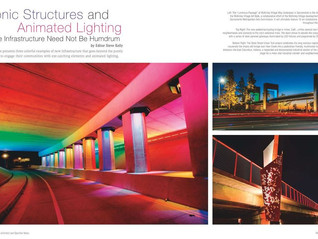 McKinley Village Underpass featured in Landscape Architect Specifier