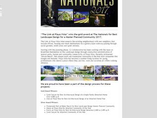Playa Vista Wins Gold at the Nationals