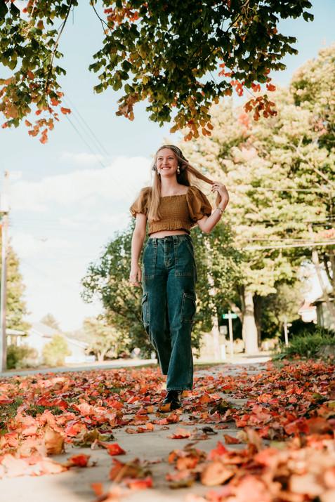 michigan senior girl photographer