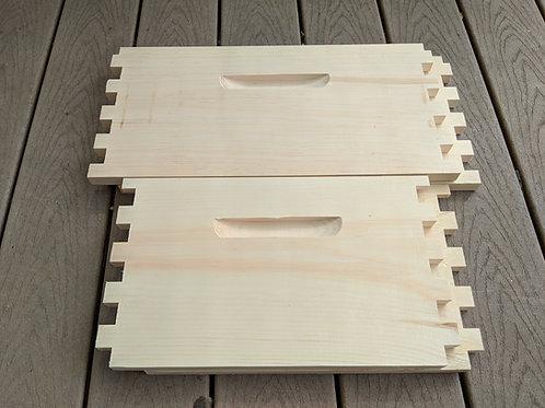 Deep Box Unassembled - Select Pine