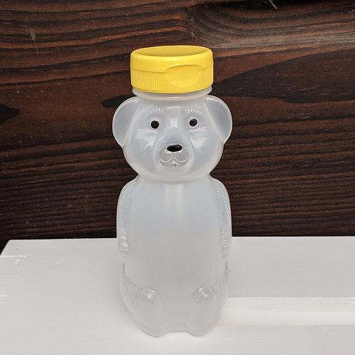 12 Oz. wt. Plastic Bear Bottle w/Cap