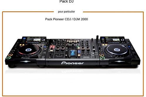 DJ Pack Pioneer 2000
