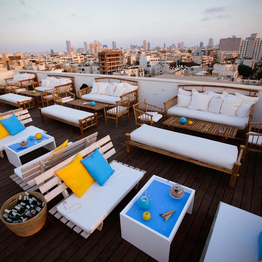Lounge auf Dach
