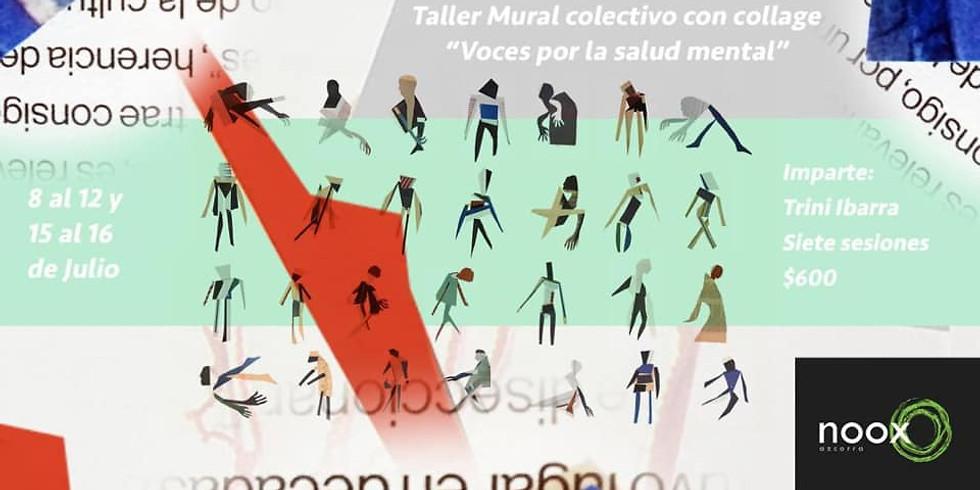 """Taller Mural colectivo """"Voces por la salud mental"""""""