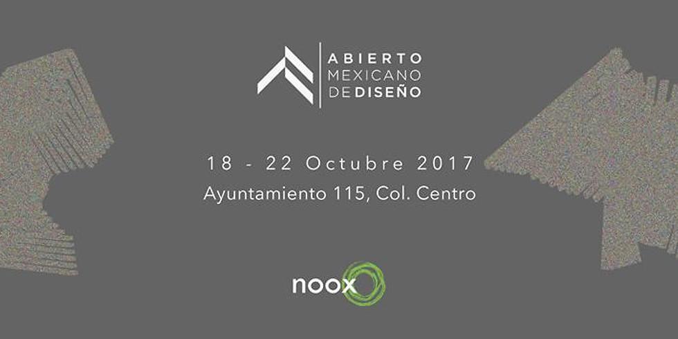 Noox en Abierto Mexicano de Diseño
