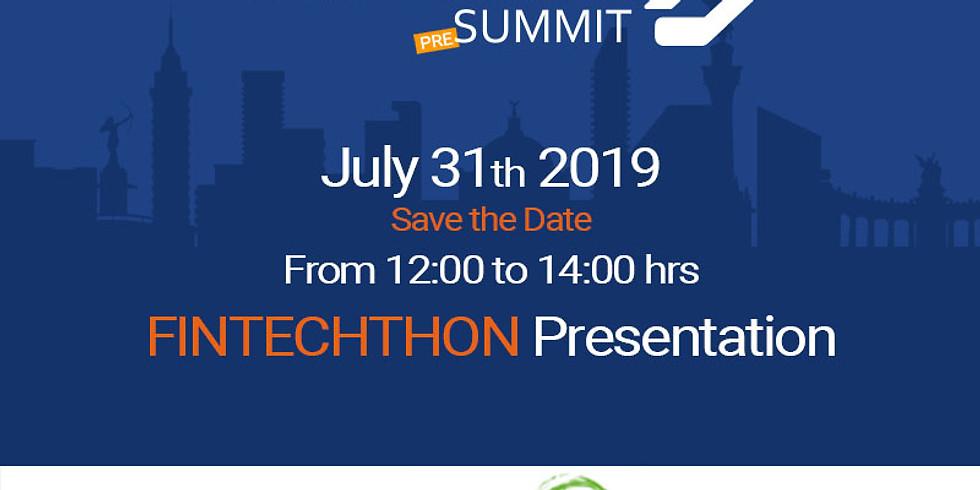 Fintechthon presentation open banking fintech and blockchain