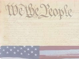 Image of U.S. Constitution says We The People