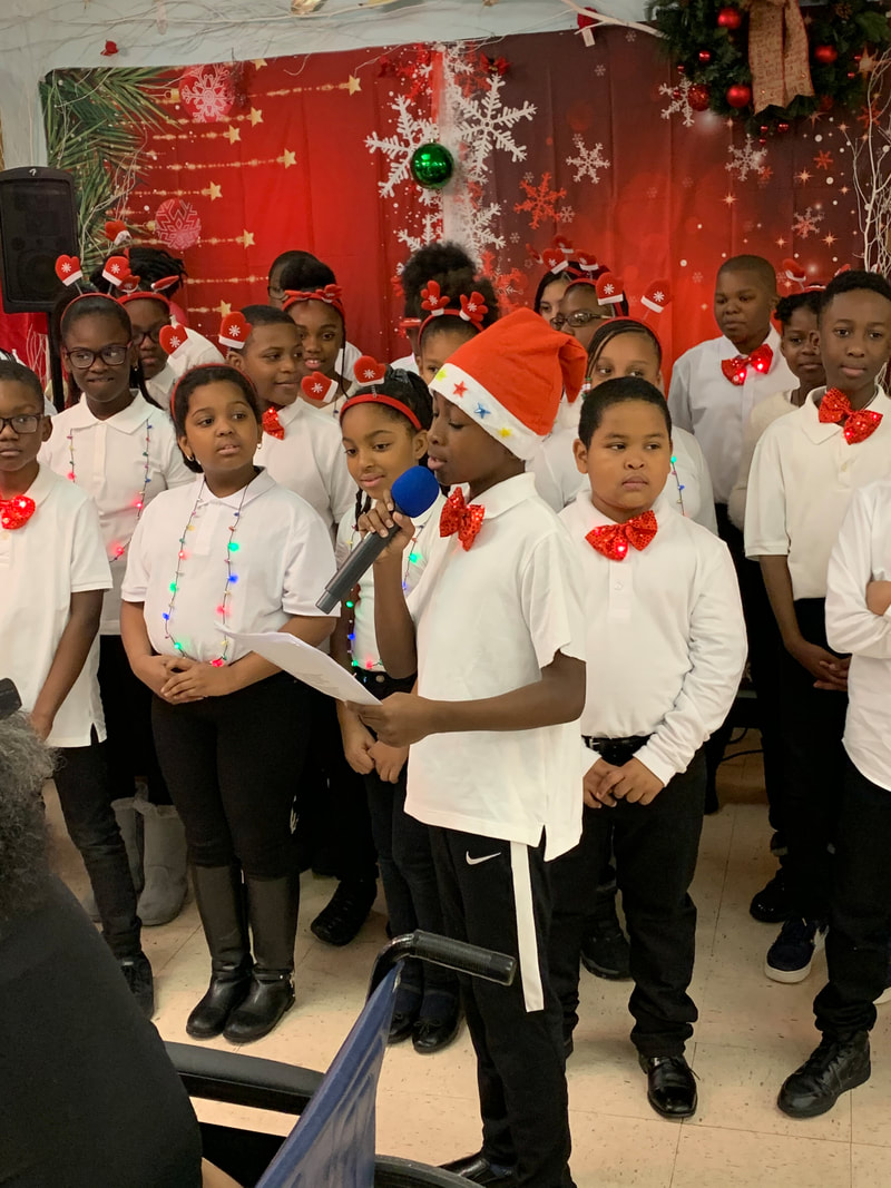 Ahmad introduces chorus at Crown Heights Rehabilitation Facility