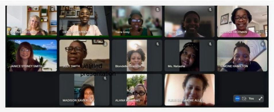 School Leadership Team members in Google