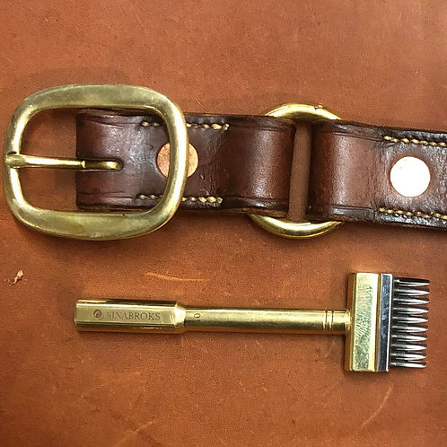 Work Belt with knife pouch
