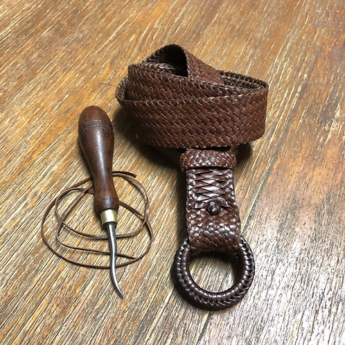 Plaited Belt with plaited rings