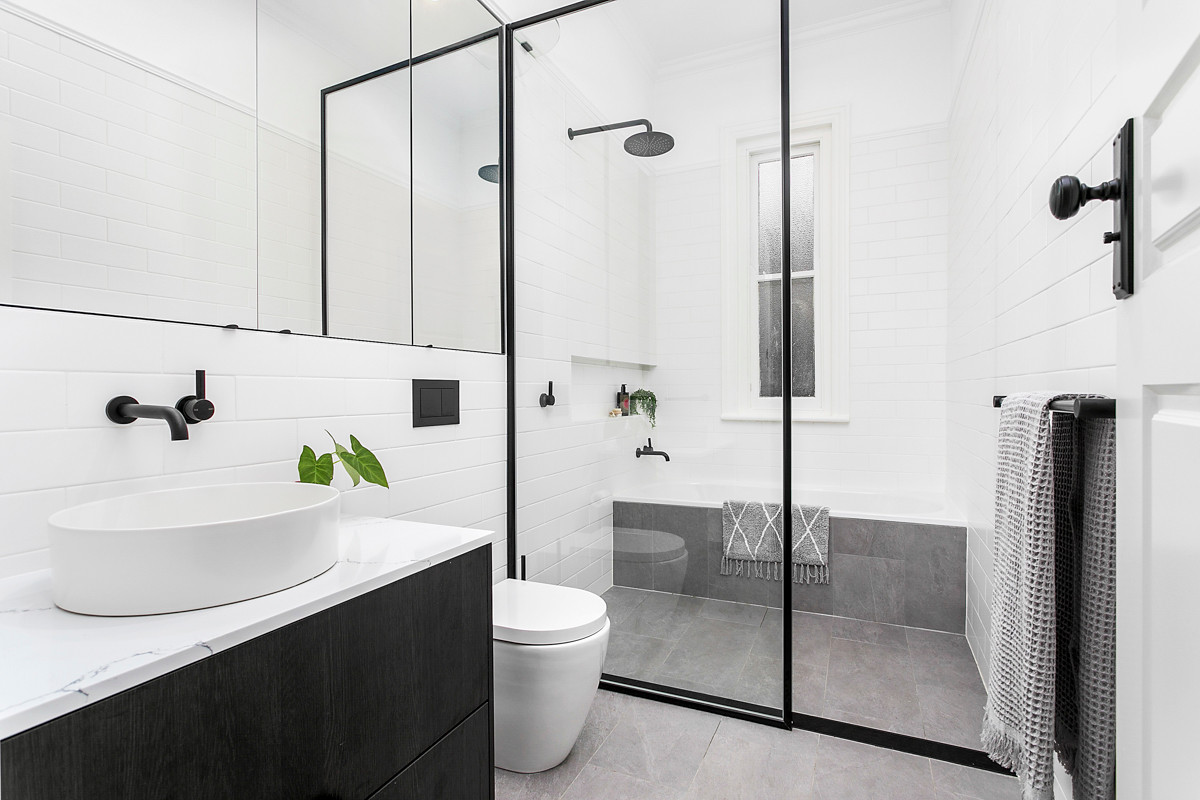 Petersham bathroom renovation